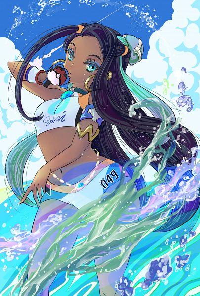 Tags: Anime, Pixiv Id 9262916, Pokémon Sword & Shield, Pokémon, Rurina, Nessa (pokémon)