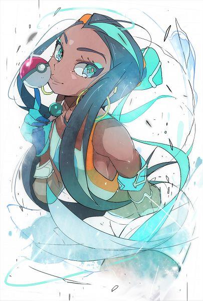 Tags: Anime, Pixiv Id 23248431, Pokémon Sword & Shield, Pokémon, Rurina, Nessa (pokémon)
