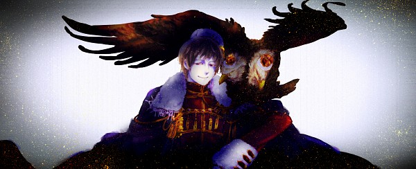Tags: Anime, Pixiv Id 2488587, Axis Powers: Hetalia, Russia, Mini Crown, Bird on Shoulder, Emblem, Eagle, Russian Coat Of Arms, Fanart, Pixiv, Facebook Cover, Fanart From Pixiv