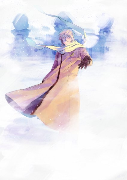 Tags: Anime, Pixiv Id 3835893, Axis Powers: Hetalia, Russia, Floating Scarf, Medal, Fanart From Pixiv, Fanart, Pixiv