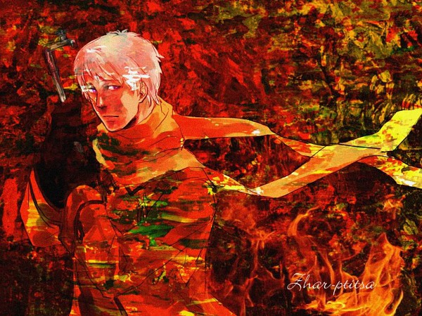 Tags: Anime, Axis Powers: Hetalia, Russia, Orange (Color), Soviet Union, Allied Forces