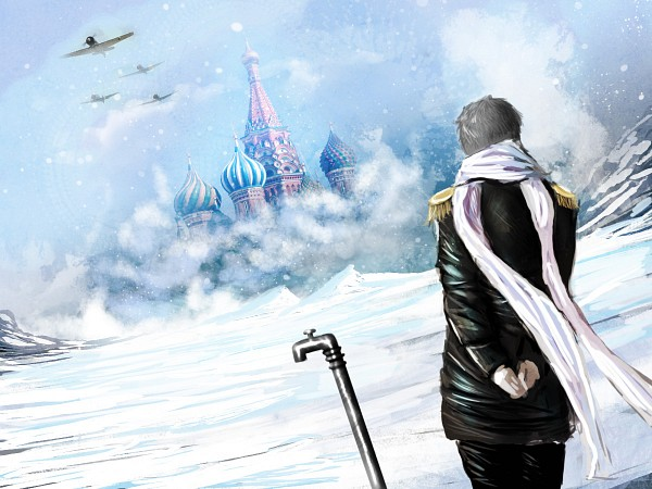 Tags: Anime, Geminispy, Axis Powers: Hetalia, Russia, Moscow, Pipe (Plumbing), Moscow Kremlin, Fanart, Fanart From DeviantART, deviantART, Soviet Union, Allied Forces