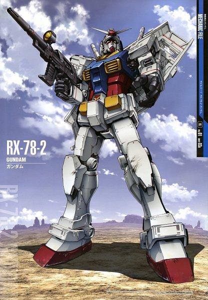 Tags: Anime, Mobile Suit Gundam, Desert, Rx-78-2 Gundam, Official Art, Gundams