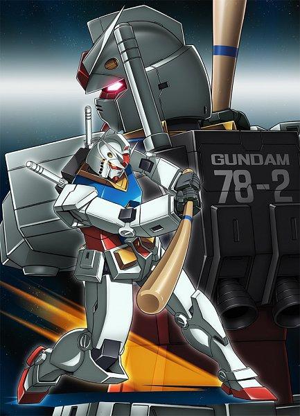 Tags: Anime, Mobile Suit Gundam, Rx-78-2 Gundam, Official Art, Gundams