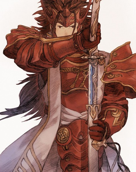 Tags: Anime, Pixiv Id 1457019, Fire Emblem If, Ryoma (Fire Emblem), Red Armwear, Japanese Armor, Fanart, Fanart From Pixiv, Pixiv