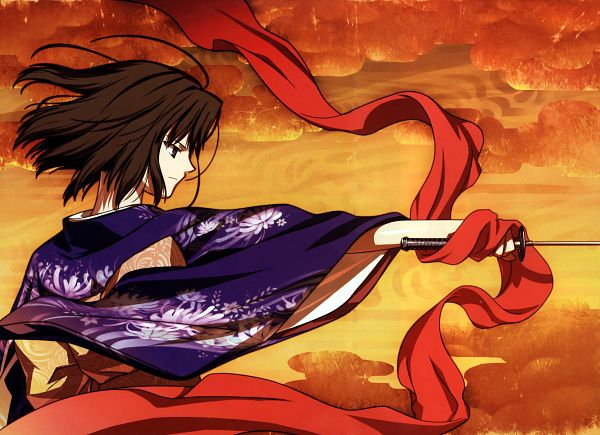 Tags: Anime, Takeuchi Takashi, TYPE-MOON, Kara no Kyoukai, catalogue, Ryougi Shiki, Official Art