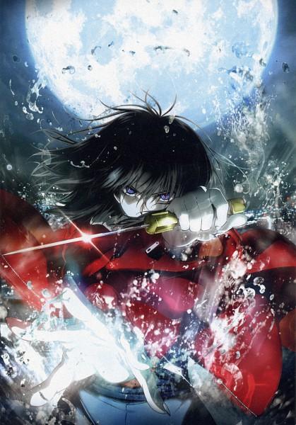 Tags: Anime, TYPE-MOON, ufotable, Kara no Kyoukai, Ryougi Shiki, Mobile Wallpaper, Official Art