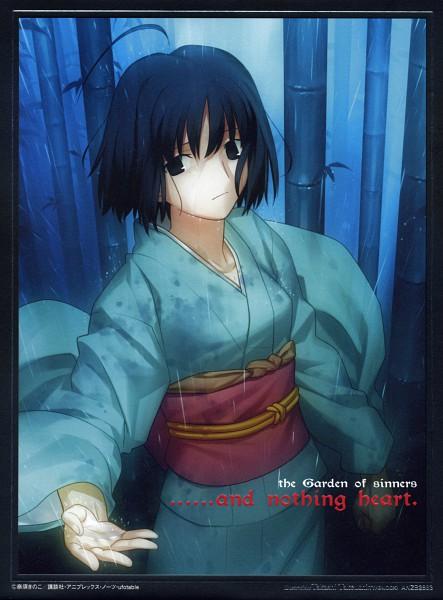 Tags: Anime, TYPE-MOON, Kara no Kyoukai, Ryougi Shiki, Official Art