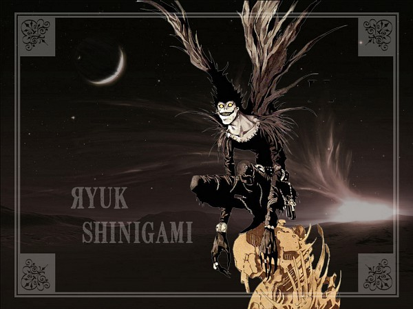 Tags: Anime, DEATH NOTE, Ryuk, Wallpaper