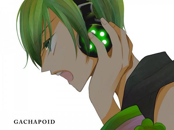 Tags: Anime, Pixiv Id 430525, VOCALOID, Ryuto, Hand on Headphones