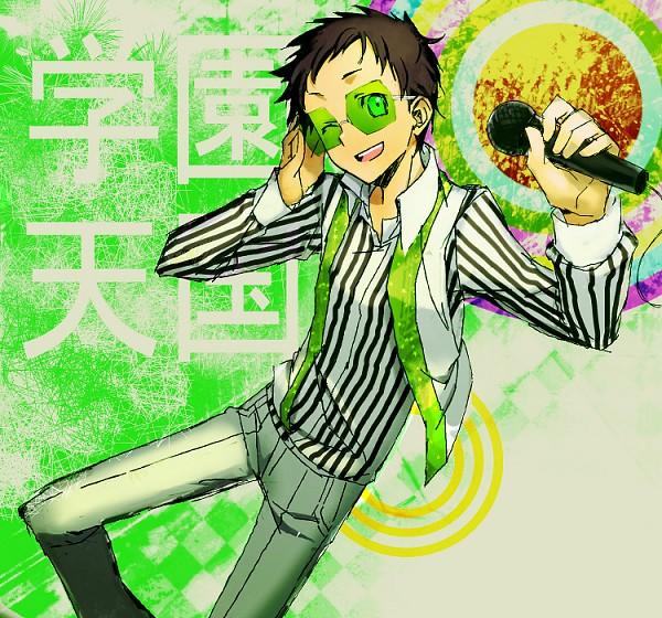 Tags: Anime, Rahit, DURARARA!!, Ryuugamine Mikado, Fanart From Pixiv, PNG Conversion, Pixiv, Fanart, Gakuen Tengoku