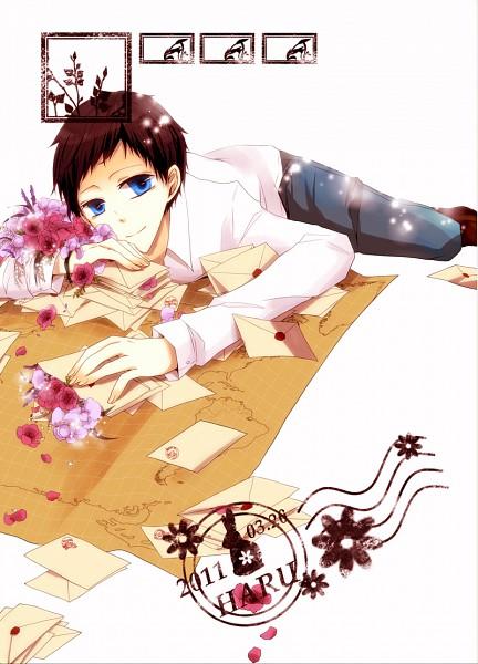 Tags: Anime, Iyu Panna, DURARARA!!, Ryuugamine Mikado, Fanart, PNG Conversion, Mobile Wallpaper, Pixiv