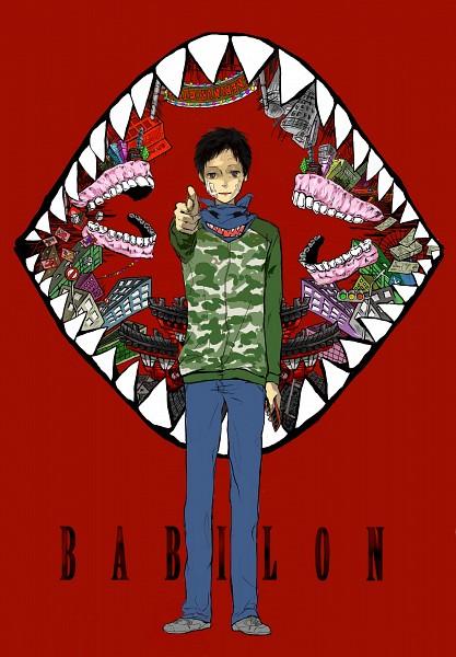 Tags: Anime, Pixiv Id 3303352, DURARARA!!, Ryuugamine Mikado, Gun Gesture, Fanart, Mobile Wallpaper, Pixiv, Babylon (Song)