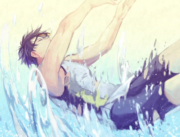 Tags: Anime, Shinri Mitsuba, Free!, Ryuugazaki Rei, Pixiv, Fanart, Fanart From Pixiv