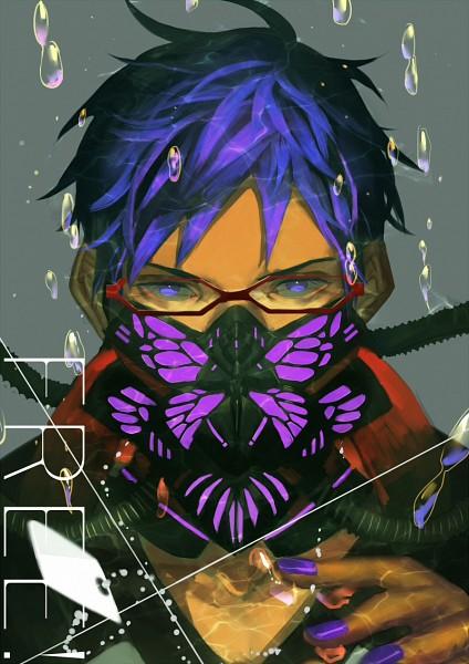 Tags: Anime, bwusagi, Free!, Ryuugazaki Rei, Fanart, Mobile Wallpaper