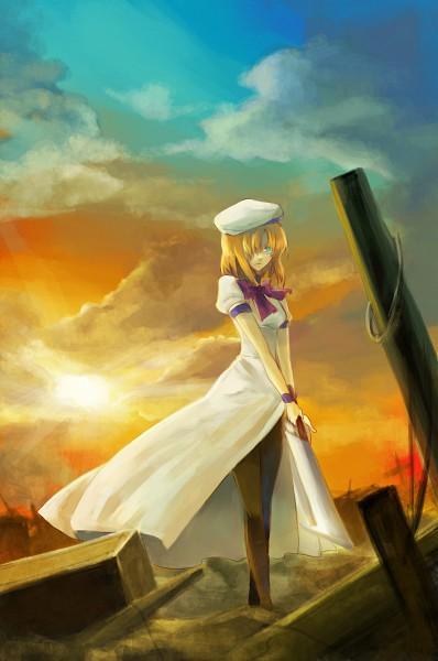 Tags: Anime, Cerumia, 07th Expansion, Higurashi no Naku Koro ni, Ryuuguu Rena, Billhook, Mobile Wallpaper