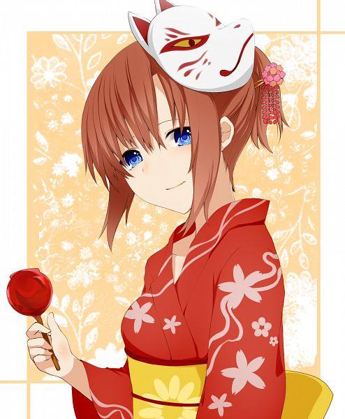 Tags: Anime, 07th Expansion, Higurashi no Naku Koro ni, Ryuuguu Rena, Candy Apple