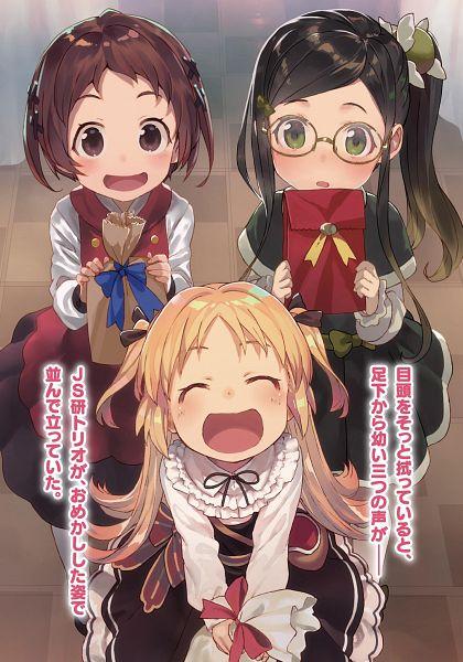 Tags: Anime, Shirabii, Ryuuou no Oshigoto!, Charlotte Izoard, Sadatou Ayano, Mizukoshi Mio, Novel Illustration, Official Art, The Ryuo's Work Is Never Done!