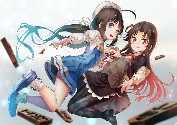 Tags: Anime, Saraki, Ryuuou no Oshigoto!, Yashajin Ai, Hinatsuru Ai, The Ryuo's Work Is Never Done!
