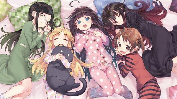 Tags: Anime, Shirabii, Ryuuou no Oshigoto!, Hinatsuru Ai, Charlotte Izoard, Sadatou Ayano, Mizukoshi Mio, Yashajin Ai, Novel Illustration, Official Art, The Ryuo's Work Is Never Done!