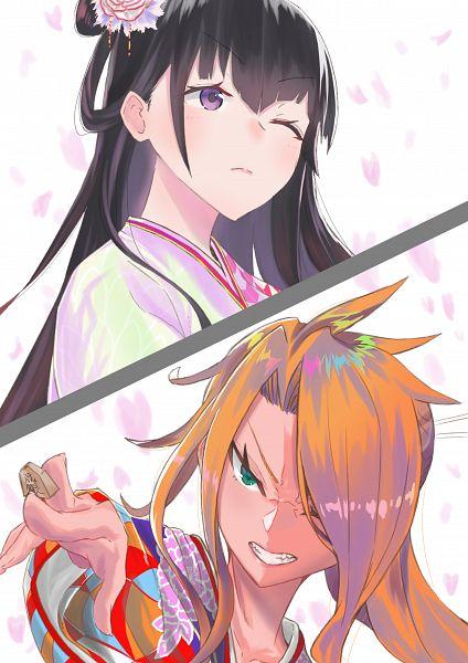 Tags: Anime, Pixiv Id 23924220, Ryuuou no Oshigoto!, Kugui Machi, Tsukiyomizaka Ryou, The Ryuo's Work Is Never Done!