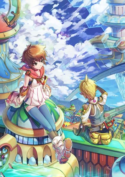 Tags: Anime, Ryuutetsu, Original, Pixiv
