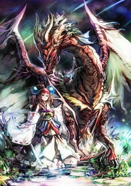 Tags: Anime, Ryuutetsu, Pixiv, Original