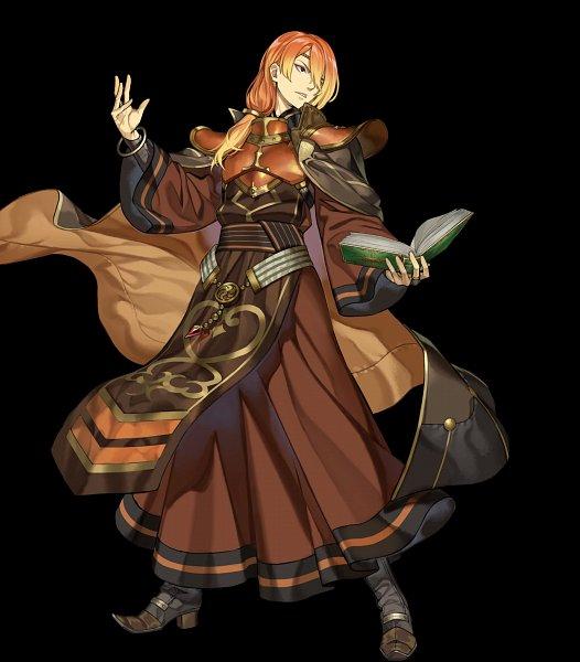 Tags: Anime, Intelligent Systems, Fire Emblem Heroes, Fire Emblem Gaiden, Ryuuto (Fire Emblem), Official Art, Luthier (fire Emblem)