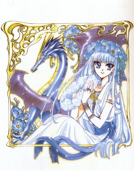 Tags: Anime, CLAMP, Magic Knight Rayearth, Celes (TRC), Ryuuzaki Umi, Kudan, Poppy, Official Art