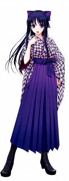 Tags: Anime, Komori Kei, Ricotta, Walkure Romanze, Ryuuzouji Akane, Bashamichi Uniform, Yagasuri, Scan, Official Art