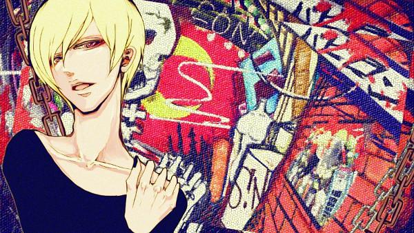 Tags: Anime, Pixiv Id 1585201, S!N, Graffiti, Fanart, Fanart From Pixiv, Nico Nico Singer, Babylon (Song), Pixiv