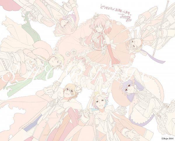 Tags: Anime, Okazaki Oka, Rejet, SACRIFICE (Drama CD), Serikawa Yuki, Calmera, Serikawa Noel, Nadeno Yujin, Heroine (SACRIFICE), Yushina Keito, Yagami Aran, Mini Crown, Official Art