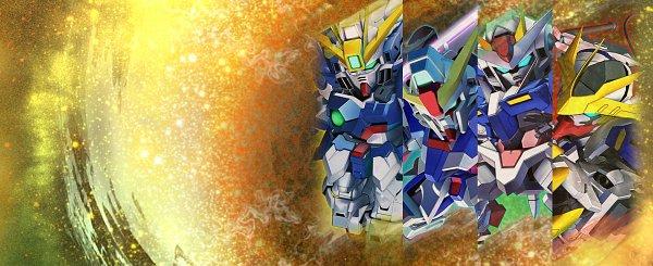 Tags: Anime, Bandai Namco Entertainment, Mobile Suit Gundam Wing, Mobile Suit Gundam SEED Destiny, Mobile Suit Gundam 00, Kidou Senshi Gundam: Tekketsu no Orphans, SD Gundam G Generation, GN-0000+GNR-010 00 Raiser, ASW-G-08 Gundam Barbatos Lupus Rex, Destiny Gundam, XXXG-00W0 Wing Gundam Zero, Wallpaper, Gundams