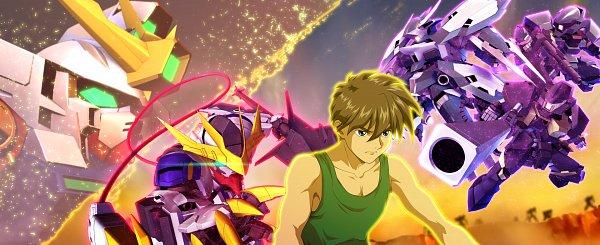 Tags: Anime, Bandai Namco Entertainment, Mobile Suit Gundam Wing, Kidou Senshi Gundam: Tekketsu no Orphans, SD Gundam G Generation, ASW-G-08 Gundam Barbatos, ASW-G-08 Gundam Barbatos Lupus Rex, XXXG-00W0 Wing Gundam Zero, Wallpaper