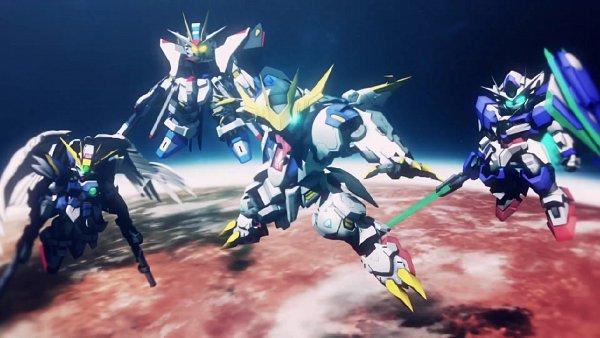 Tags: Anime, Bandai Namco Entertainment, Mobile Suit Gundam SEED Destiny, Kidou Senshi Gundam: Tekketsu no Orphans, Mobile Suit Gundam 00, Mobile Suit Gundam Wing, SD Gundam G Generation, ASW-G-08 Gundam Barbatos, GNT-0000 00 Qan(T), ASW-G-08 Gundam Barbatos Lupus Rex, Xxxg-00w0 Wing Gundam Zero, Strike Freedom Gundam, Wallpaper