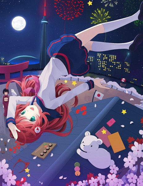 Tags: Anime, Pixiv Id 4303587, VOCALOID, SF-A2 miki, Nintendo DS, Sushi