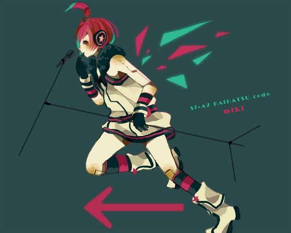 Tags: Anime, Pixiv Id 2766297, VOCALOID, SF-A2 miki
