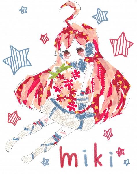 Tags: Anime, Ogakororomi, VOCALOID, SF-A2 miki, Masking Tape, Fanart, Traditional Media, Pixiv