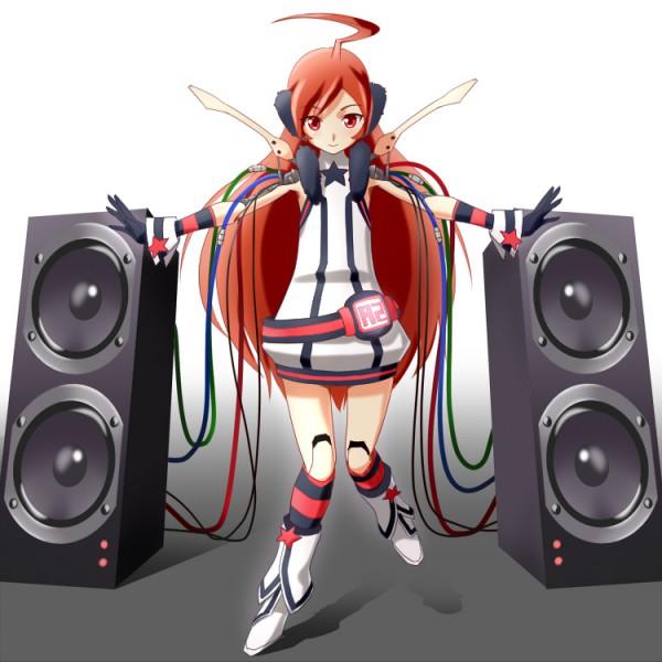 Tags: Anime, Harisenbon, VOCALOID, SF-A2 miki