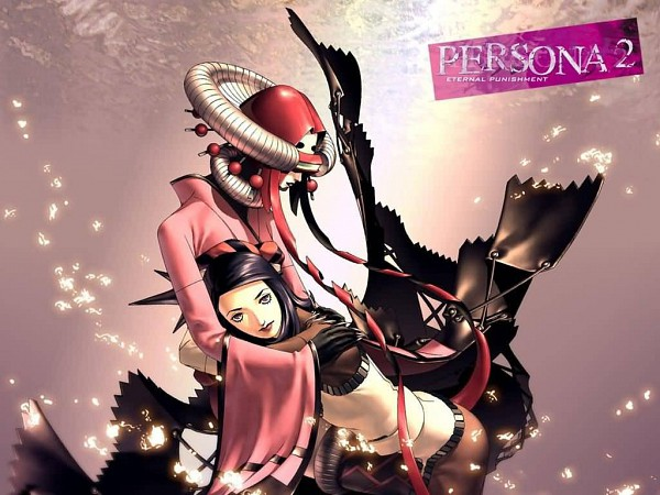 Tags: Anime, Kaneko Kazuma, SHIN MEGAMI TENSEI: PERSONA 2, Maia (persona), Amano Maya, Wallpaper
