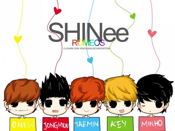 Tags: Anime, Kinkykadaj, Lee Tae Min, Kim Jonghyun, Kim Ki Bum (SHINee), Choi Minho, Lee Jin Ki, K-pop, deviantART, SHINee