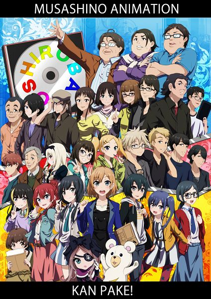 Tags: Anime, Drpow, SHIROBAKO, Doumoto Chiemi, Sakaki Shizuka, Okitsu Yuka, Madoka Hironori, Shinkawa Nao, Honda Yutaka, Andou Tsubaki, Hiraoka Daisuke, Miyamori Aoi, Ogasawara Rinko