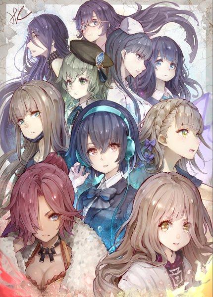 Tags: Anime, Hoshizaki Reita, SINoALICE, Takagi Hisanori, Pinocchio (SINoALICE), Gretel (SINoALICE), Doumo Erika, Cinderella (SINoALICE), Snow White (SINoALICE), Yukishita Miki, Kaguya Hime (SINoALICE), Akazukin (SINoALICE), Dorothy (SINoALICE)