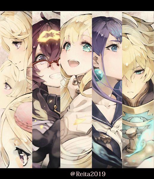 Tags: Anime, Pixiv Id 5494559, SINoALICE, Three Little Pigs (SINoALICE), Dorothy (SINoALICE), Ningyou Hime (SINoALICE), Rapunzel (SINoALICE), Aladdin (SINoALICE), Fanart From Pixiv, Pixiv, Fanart
