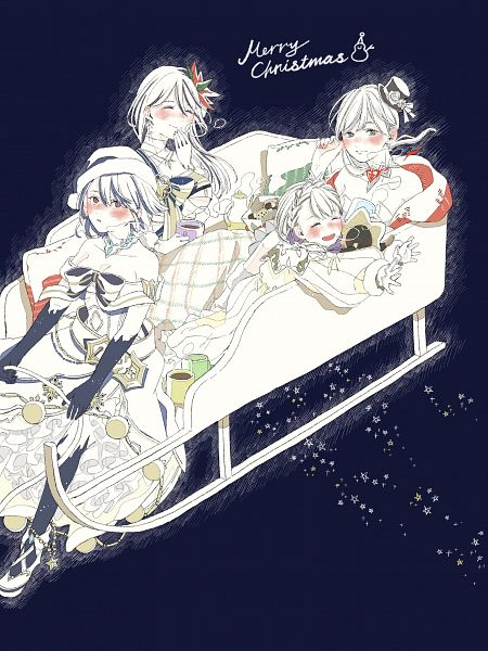 Tags: Anime, Maru (Maru_Y02), SINoALICE, Snow White (SINoALICE), Kaguya Hime (SINoALICE), Alice (SINoALICE), Ibarahime (SINoALICE), Twitter, Fanart
