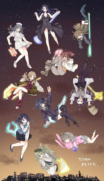 Tags: Anime, Pixiv Id 18957851, SINoALICE, Ibarahime (SINoALICE), Pinocchio (SINoALICE), Gretel (SINoALICE), Takagi Hisanori, Cinderella (SINoALICE), Snow White (SINoALICE), Doumo Erika, Kaguya Hime (SINoALICE), Akazukin (SINoALICE), Yukishita Miki