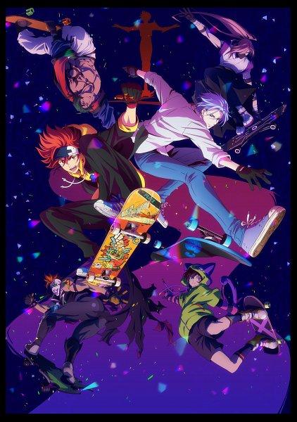 Tags: Anime, Chiba Michinori, BONES (Studio), SK8 the Infinity, Sakurayashiki Kaoru, Higa Hiromi, Chinen Miya, Shindou Ainosuke, Hasegawa Langa, Nanjou Koujirou, Kyan Reki, Skateboard, Key Visual