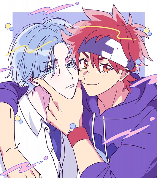 Tags: Anime, Langakunkawaii, Pixiv Id 594825, SK8 the Infinity, Hasegawa Langa, Kyan Reki, Twitter