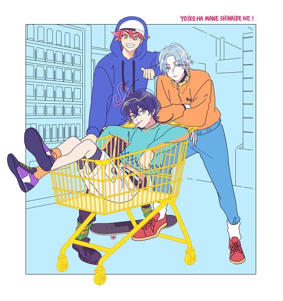 Tags: Anime, Langakunkawaii, Pixiv Id 594825, SK8 the Infinity, Chinen Miya, Hasegawa Langa, Kyan Reki