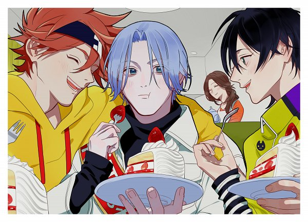 Tags: Anime, Pixiv Id 177460, SK8 the Infinity, Kyan Reki, Chinen Miya, Hasegawa Langa